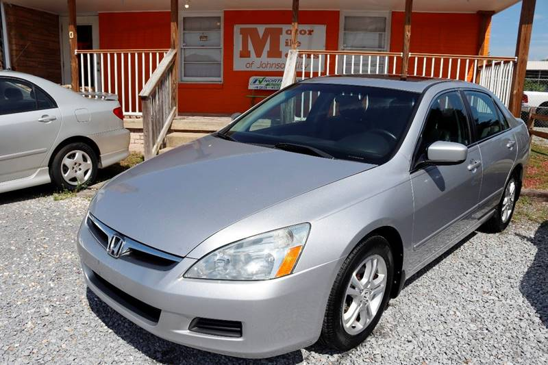 2007 Honda Accord For Sale At Motor Mile Motors In Johnson City TN