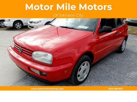1998 Volkswagen Cabrio For Sale In Arizona Carsforsale