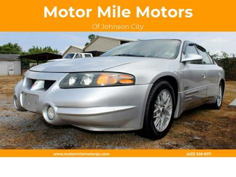 2001 Pontiac Bonneville for sale in Johnson City, TN
