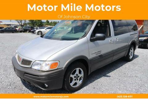 2002 Pontiac Montana for sale in Johnson City, TN