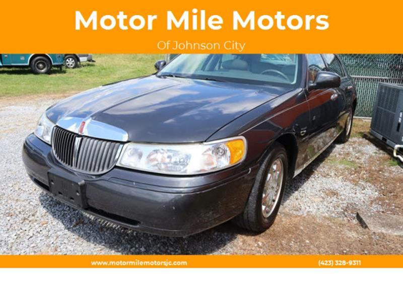 1998 Lincoln Town Car Signature In Johnson City Tn Motor Mile Motors