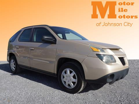 2004 Pontiac Aztek for sale in Johnson City, TN