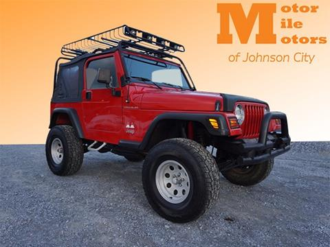 1997 Jeep Wrangler for sale in Johnson City, TN