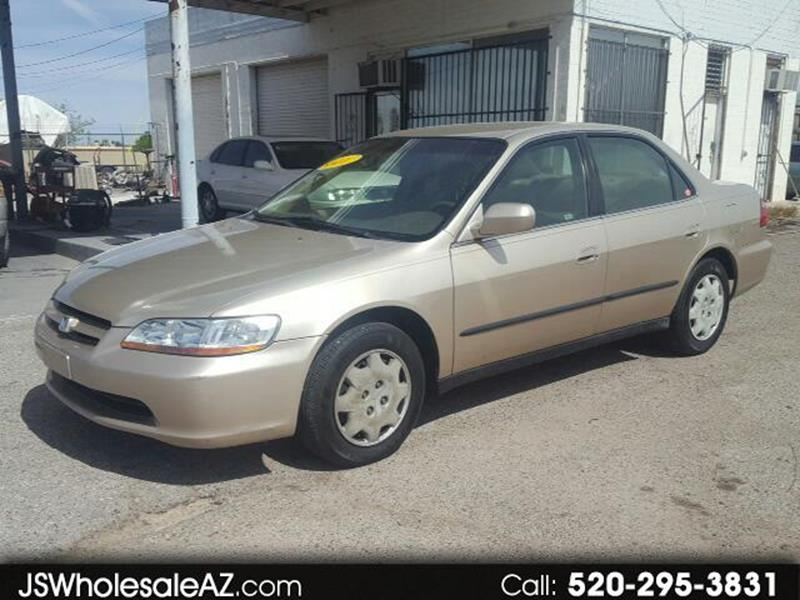 2000 Honda Accord For Sale At J U0026 S Wholesale In Tucson AZ