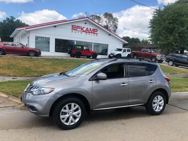 2012 Nissan Murano For Sale At Efkamp Auto Sales LLC In Des Moines IA