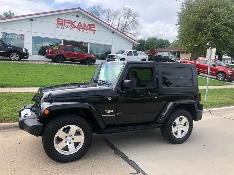 2009 Jeep Wrangler For Sale At Efkamp Auto Sales LLC In Des Moines IA