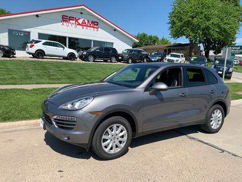 2014 Porsche Cayenne for sale in Des Moines, IA