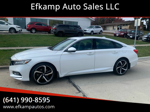 2018 Honda Accord for sale at Efkamp Auto Sales LLC in Des Moines IA