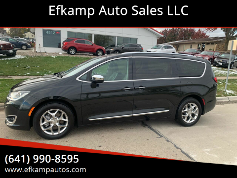 2018 Chrysler Pacifica for sale at Efkamp Auto Sales LLC in Des Moines IA