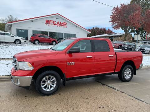 2015 RAM Ram Pickup 1500 for sale at Efkamp Auto Sales LLC in Des Moines IA