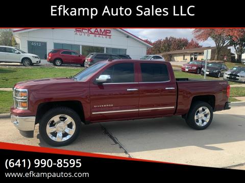 2015 Chevrolet Silverado 1500 for sale at Efkamp Auto Sales LLC in Des Moines IA