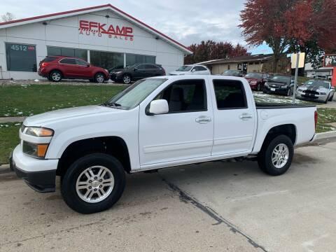 2012 Chevrolet Colorado for sale at Efkamp Auto Sales LLC in Des Moines IA
