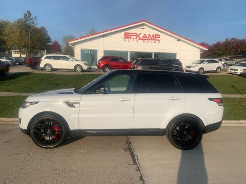 2016 Land Rover Range Rover Sport for sale at Efkamp Auto Sales LLC in Des Moines IA