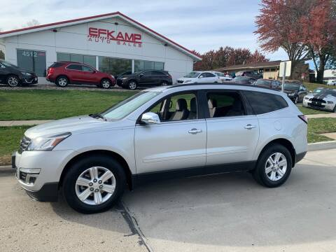 2014 Chevrolet Traverse for sale at Efkamp Auto Sales LLC in Des Moines IA