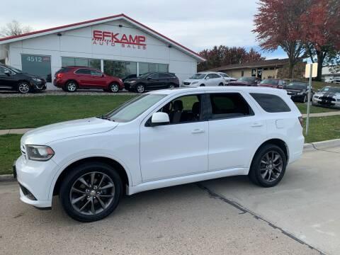 2014 Dodge Durango for sale at Efkamp Auto Sales LLC in Des Moines IA