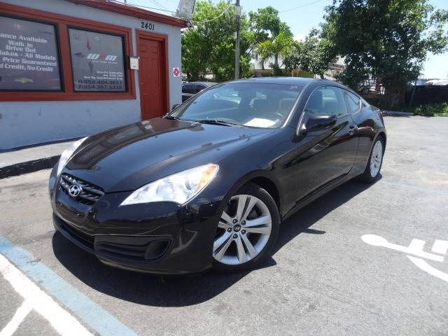 2010 Hyundai Genesis Coupe For Sale At Westpark Motors In West Park FL