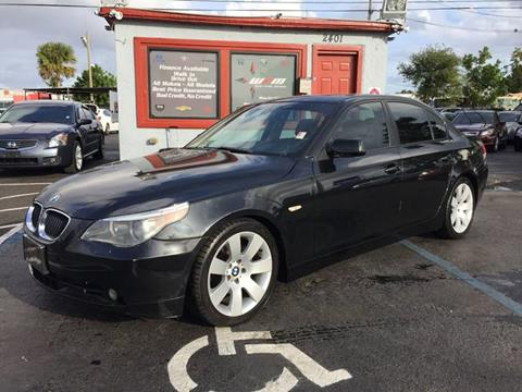 2005 BMW 5 Series for sale in West Park, FL