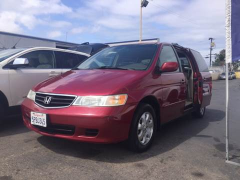 2004 Honda Odyssey for sale at Auto Express in Chula Vista CA