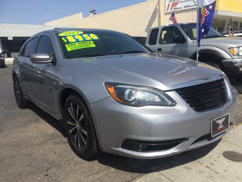 2013 Chrysler 200 for sale at Auto Express in Chula Vista CA