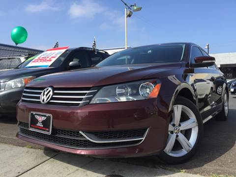 2013 Volkswagen Passat for sale at Auto Express in Chula Vista CA