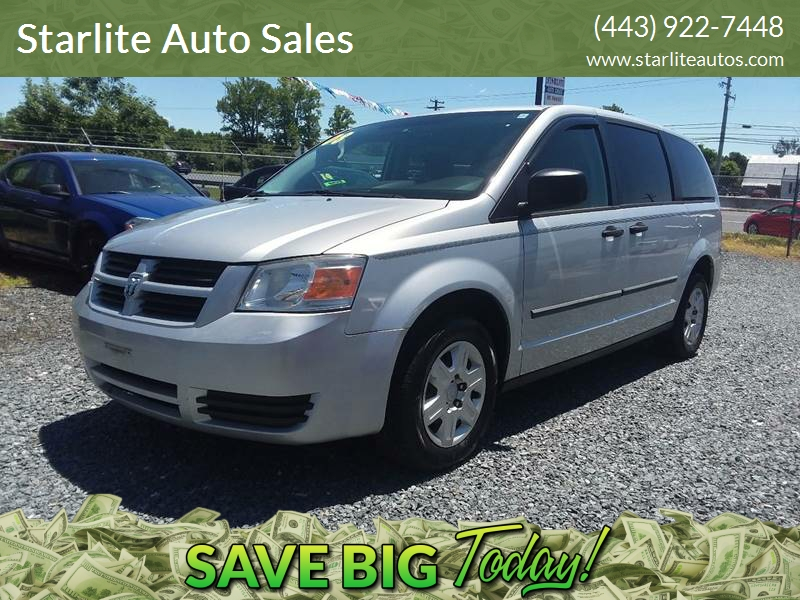 2008 Dodge Grand Caravan Se In Edgewood Md Starlite Auto Sales