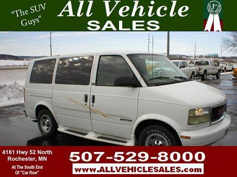 1998 GMC Safari Conversion Van