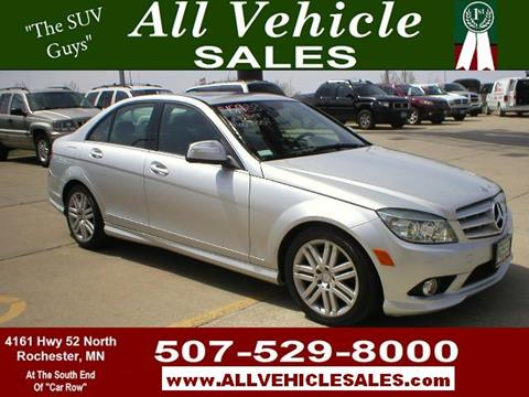 Used cars for sale in rochester mn for Mercedes benz of rochester mn