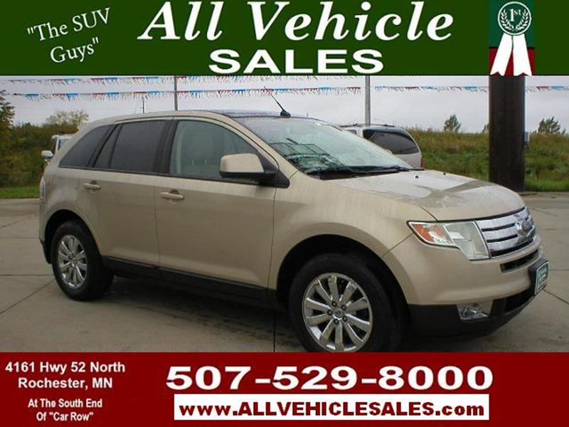 Ford Edge For Sale At All Vehicle Sales Inc In Rochester Mn