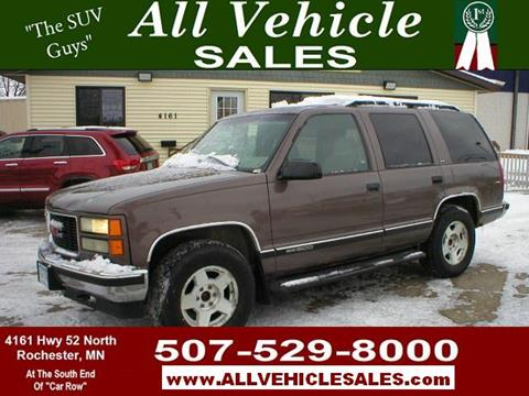 1998 GMC Yukon for sale in Rochester, MN