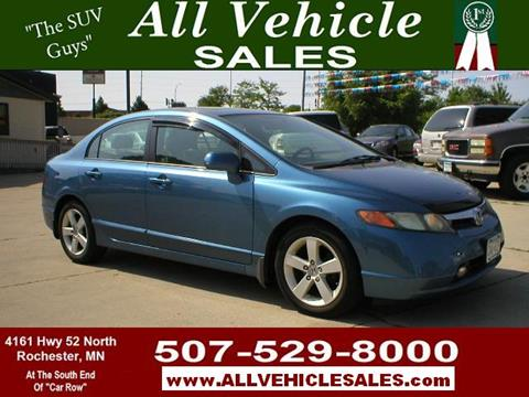2008 Honda Civic for sale in Rochester, MN