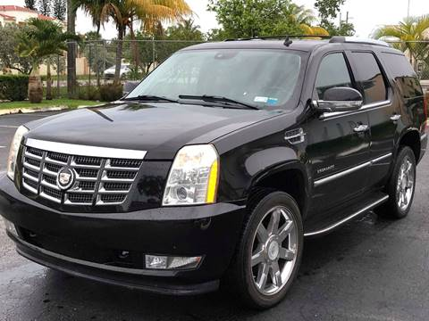 2007 Cadillac Escalade for sale at HIGH PERFORMANCE MOTORS in Hollywood FL