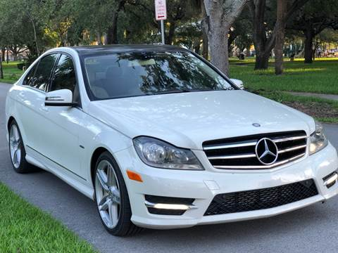 2012 Mercedes-Benz C-Class for sale in Hollywood, FL