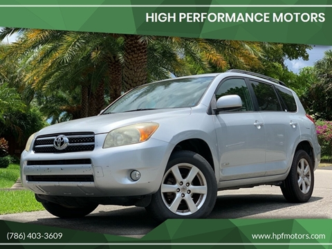 2008 Toyota Rav4 For Sale >> 2008 Toyota Rav4 For Sale In Hollywood Fl