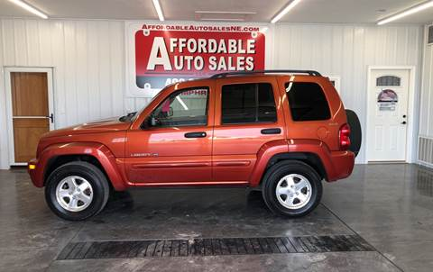 2002 Jeep Liberty for sale in Humphrey, NE