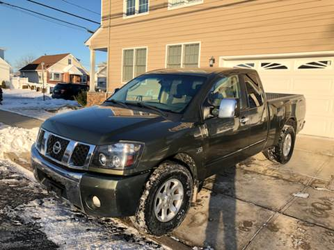 2004 Nissan Titan for sale at Jordan Auto Group in Paterson NJ