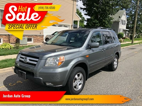 2007 Honda Pilot for sale at Jordan Auto Group in Paterson NJ
