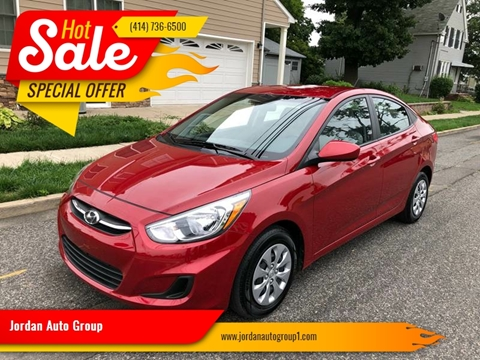 2017 Hyundai Accent for sale at Jordan Auto Group in Paterson NJ