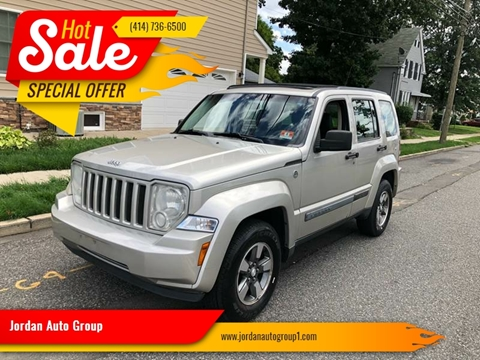 2008 Jeep Liberty for sale at Jordan Auto Group in Paterson NJ