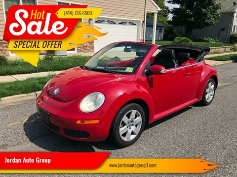 2007 Volkswagen New Beetle for sale at Jordan Auto Group in Paterson NJ
