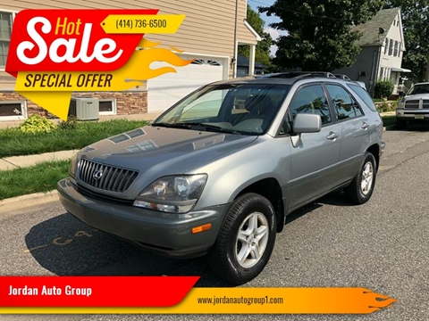 2000 Lexus RX 300 for sale at Jordan Auto Group in Paterson NJ