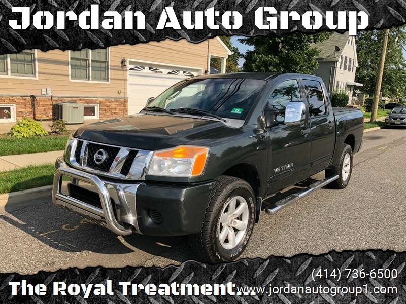 2008 Nissan Titan for sale at Jordan Auto Group in Paterson NJ