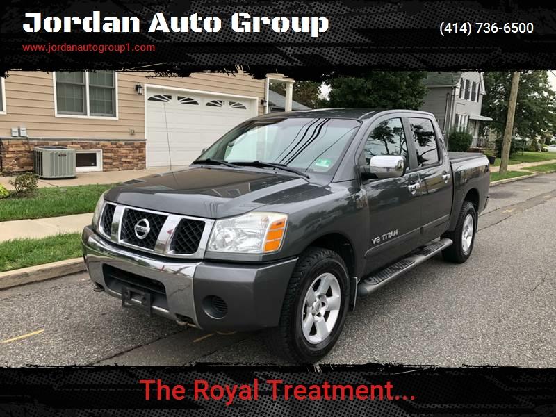 2005 Nissan Titan for sale at Jordan Auto Group in Paterson NJ