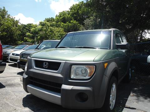 2003 Honda Element For Sale In West Palm Beach, FL