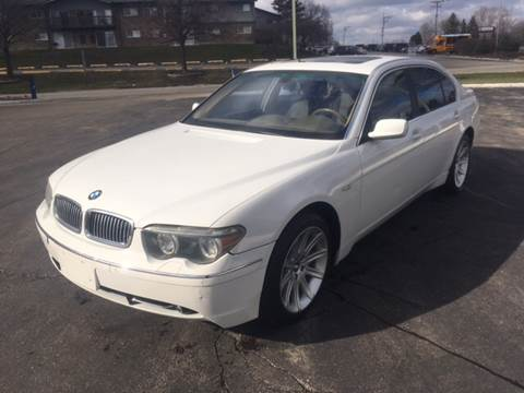 2003 Bmw 7 Series For Sale Carsforsale