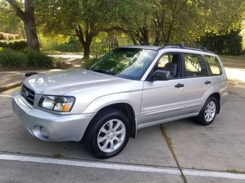 2005 Subaru Forester for sale at Cars R Us in Rocklin CA