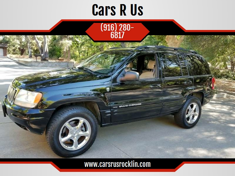 2001 Jeep Grand Cherokee For Sale At Cars R Us In Rocklin CA