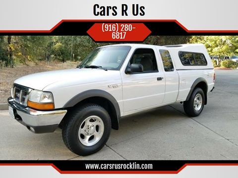 2000 Ford Ranger for sale at Cars R Us in Rocklin CA