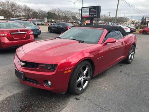 2013 Chevrolet Camaro For Sale In Virginia Carsforsale Com