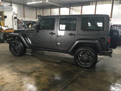 2017 Jeep Wrangler Unlimited for sale at T James Motorsports in Gibsonia PA
