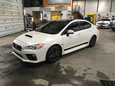 2015 Subaru WRX for sale at T James Motorsports in Gibsonia PA